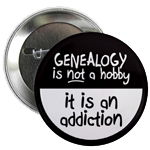 Genealogy is not a hobby - it is an addiction